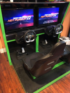 X-Racer Custom 2 player Arcade Racing Game - Multigame
