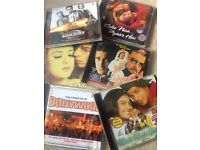 REDUCED PRICE!! Bollywood music CDs and film DVDs x10