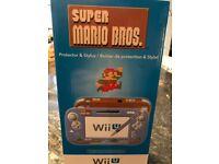 Super Mario Wii U pad protector and stylus