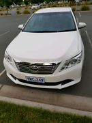 Toyota Aurion ATX 2013 Dual fuel Kambah Tuggeranong Preview