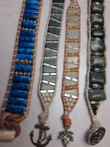 Serpentine Trapizoid bracelet