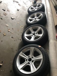BMW 328I 17 inch winter tire for sell