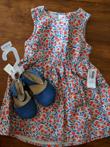 New Old navy summer dress and shoes