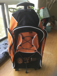 Rolling Backpack. New