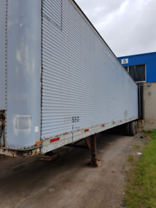 Storage trailers available now!  We deliver!!
