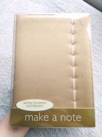 Satin 150 page notebook-New!