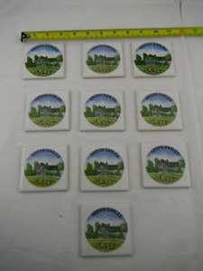 New Vintage Ceramic Tiles of Green Gables, Made in Japan