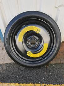 Vw golf mk7 spacesaver, spare wheel
