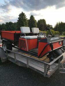 Jacobsen, 3 roues, kubota,P.T.O.5 vit