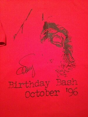 Limited Edition Sammy Hagar Cabo Wabo 1996 Birthday Bash Shirt Large Very Rare!!