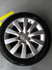 Audi Winter Tires with Rims