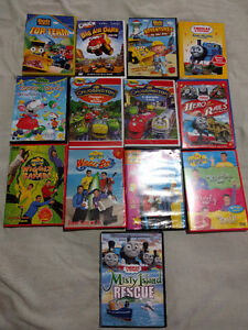 13 children's DVD's
