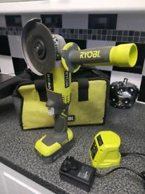 Ryobi one 18 volt angle grinder