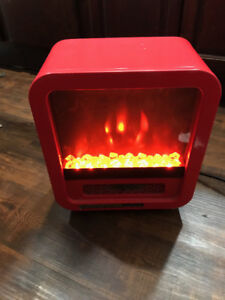 Electric fireplace/ space heater