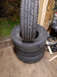 4 Bridgestone 245 75 r 16 tires