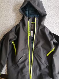 Boys waterproof coat age 8 to 9