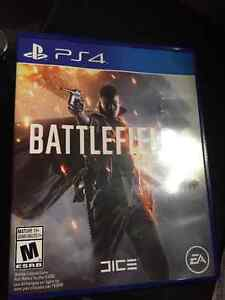 BATTLEFIELD 1 PS4 MINT CONDITION Windsor Region Ontario image 1