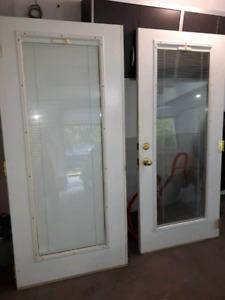 Double doors patio doors