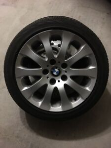 "17"" BMW 335 Wheels and Continental Tires"
