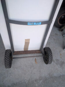Dollies-Handcarts, various styles, 8 available, pneumatic tyres