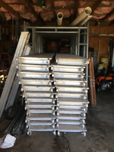 Scaffolding for sale - used twice