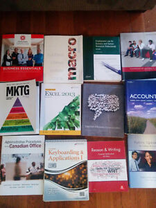 Business administration and business human resources textbooks
