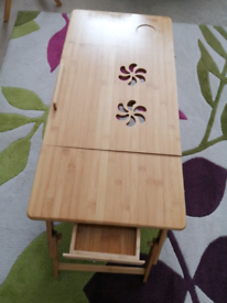 Laptop table for bed, or surprise your partner with breakfast in bed