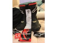 Alpinestars smx 5 waterproof motorbike boots
