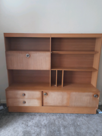 FREE solid vintage wall unit