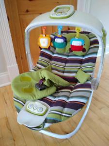 Transat / chaise vibrante pour bébé