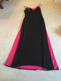Ladies evening dress.