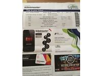 Ticket for Andy Murray, Hydro Wednesday 21st