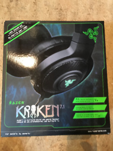Gamer Headset - Razer Kraken 7.1