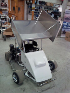 QRC Racing micro sprint karts and accessories for racing on dirt