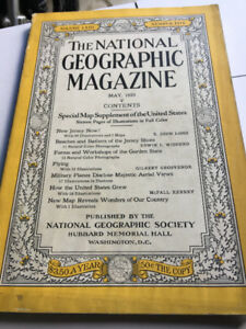 National Geographic Set or Individual Copies 1914 to 2010