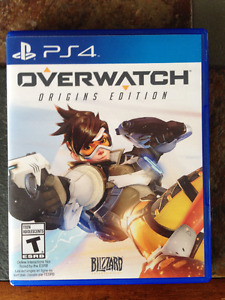 PS4 game - Overwatch