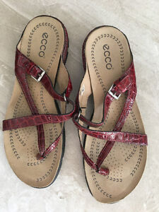 Ecco Sandals worn once perfect condition