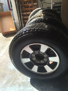 5 Michelin tires and rims for sale (1 is a spare tire)