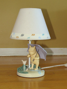 Lamp, Pooh and Piglet