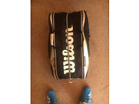 Wilson thermoguard 16 racket tour bag (RRP £90)