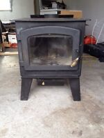 "wood stove and 6 peaces of 6""selkirk"
