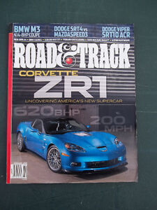 40 - copies Road & Track Magazines