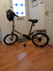 Apollo transition folding bike, hardly used, excellent condition