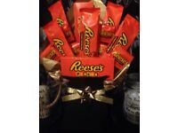 Reeves chocolate bouquet