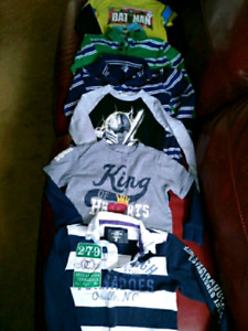 Toddler boys 5t long sleeved shirts $20 takes LOT