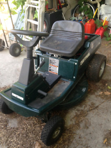 Craftsman riding mower 10 hp $125