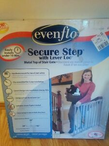 Evenflo Secure Step Hardware Mount Metal Gate (NEW)