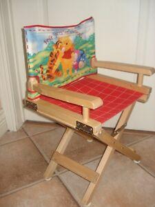 Chaise en bois pour enfant Winnie The Poo West Island Greater Montréal image 2