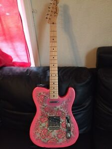 Fender Telecaster Pink Paisley