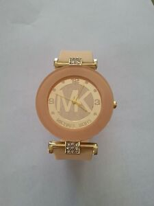 Michael Kors watch with silicon bracelet